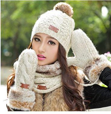 hat scarf mittens