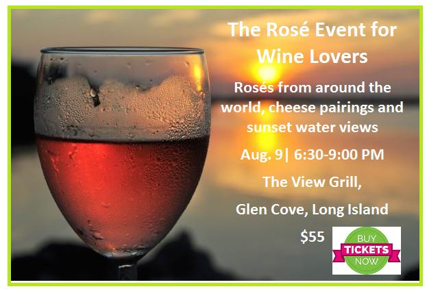 the three tomatoes rose wine tasting event