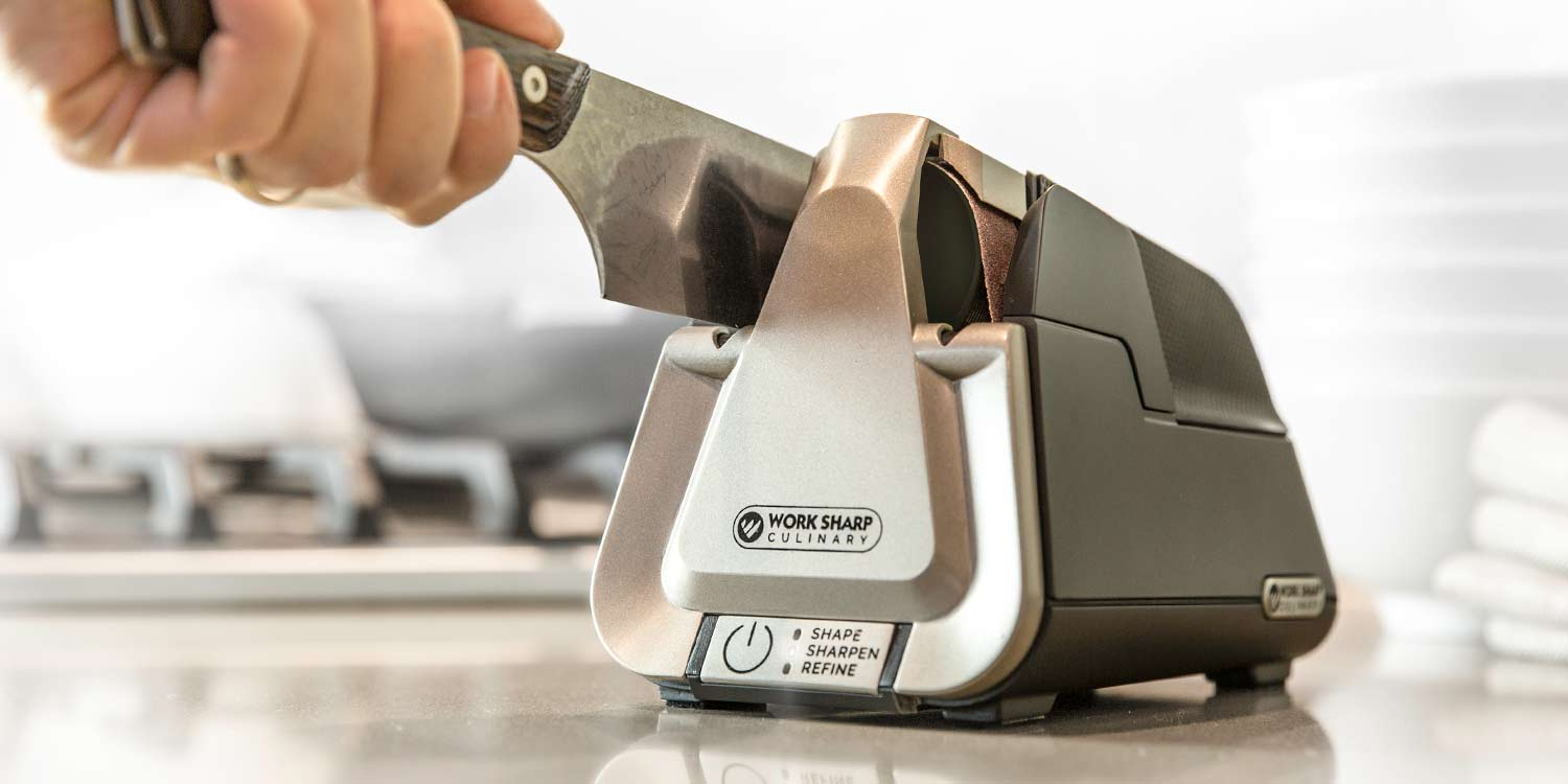 The Work Culinary Line Of Kitchen Knife Sharpeners Are Now A Featured Catalog Item For Williams Sonoma And They Re Expanding Into Over