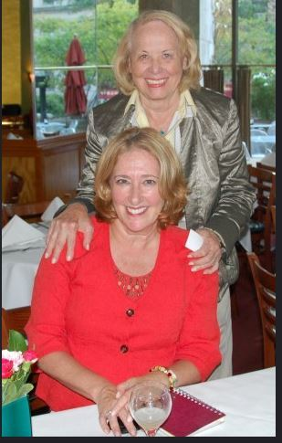 Liz Smith and Cheryl Benton