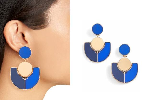 Big Bold Earrings Make You Look Younger