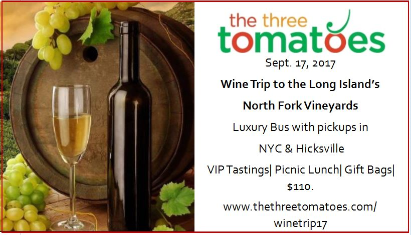 wine trip north fork vineyards