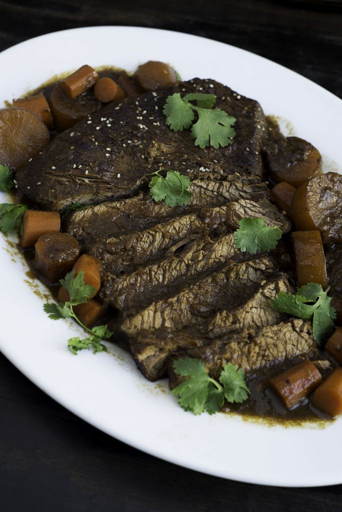 Asian Braised Brisket