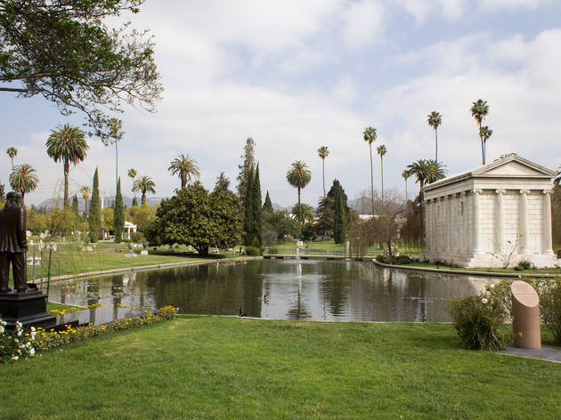 LA LIFE: Eastside Food, Getty Festival, Cemetery Tour, Free Trees