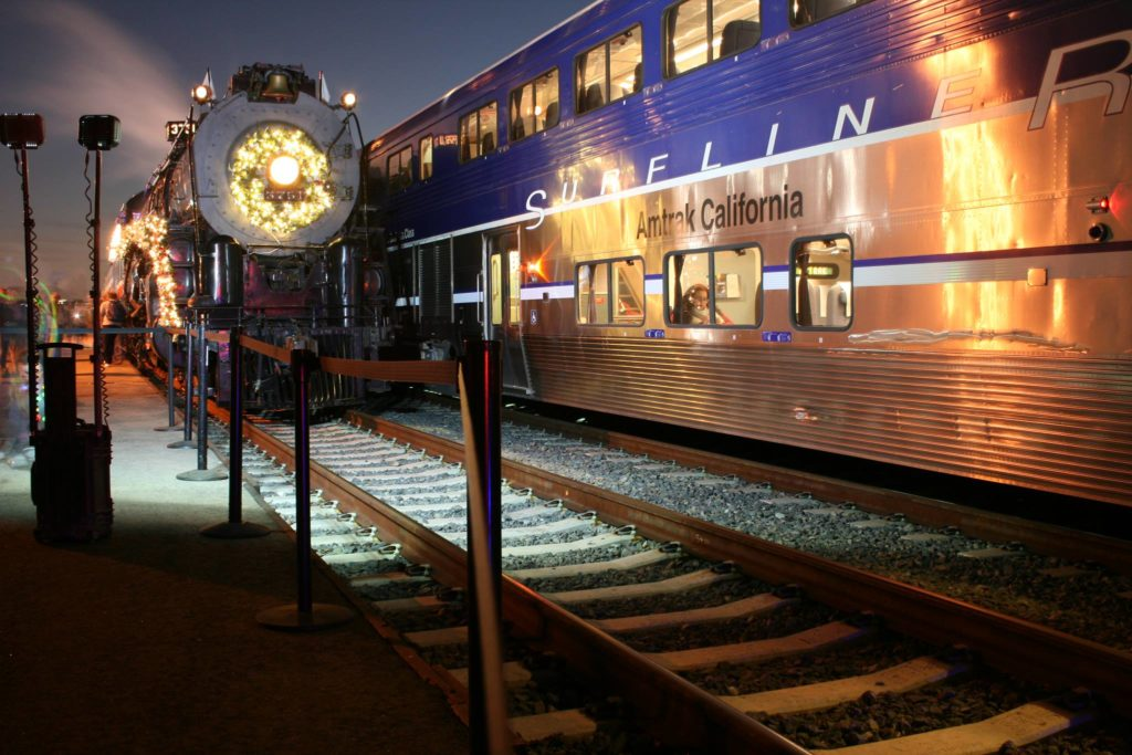 LA LIFE: Holiday Giving, Trains, Holiday Celebrations