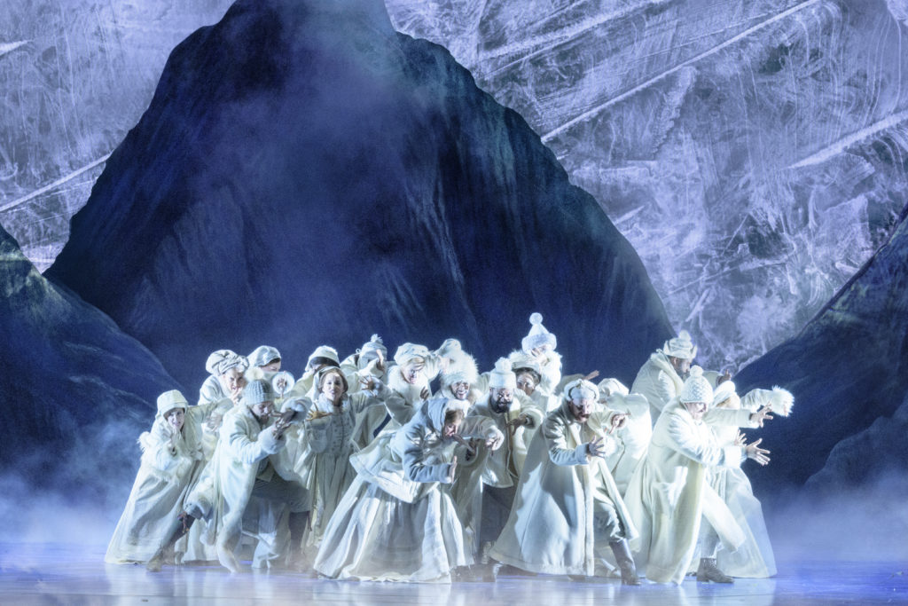 Frozen in Previews Now on Broadway