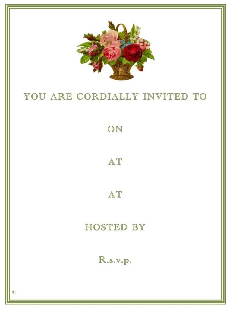 You Are Invited - How to be a good host or guest