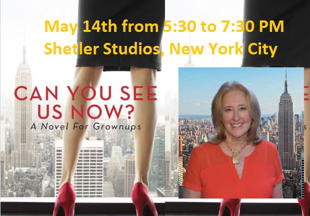 NYC LIFE: May Fun, Book Event, Good Causes