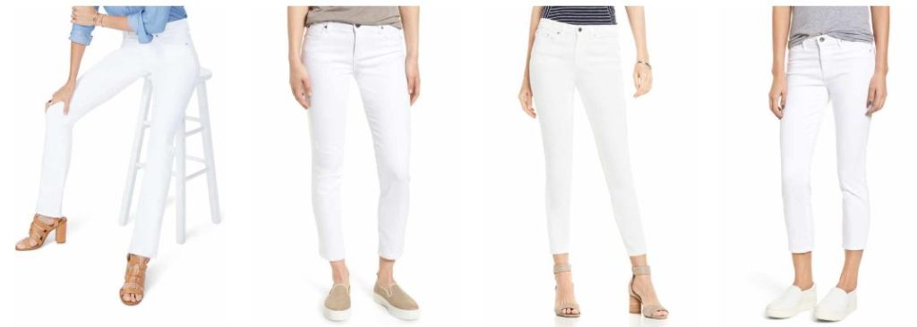 The Versatility of White Jeans