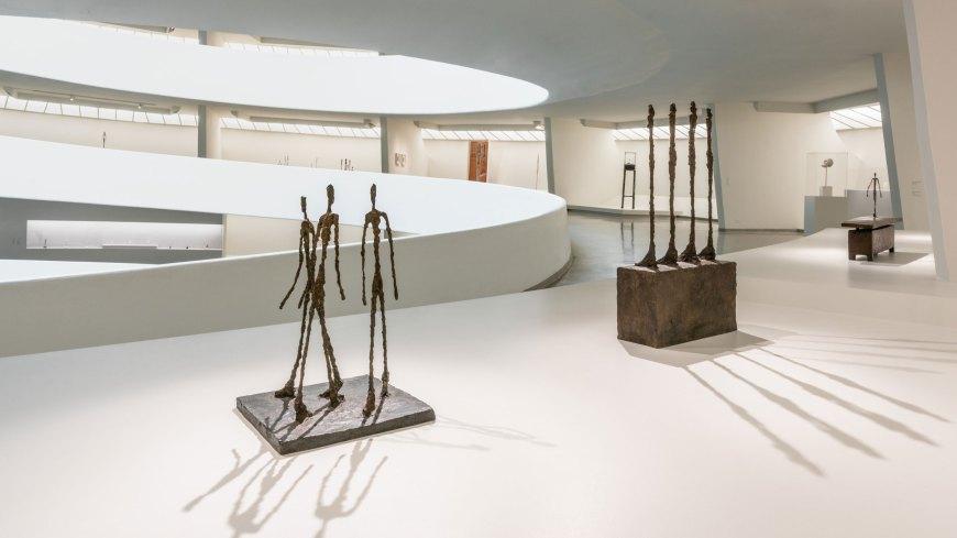 Giacometti at the Guttenheim