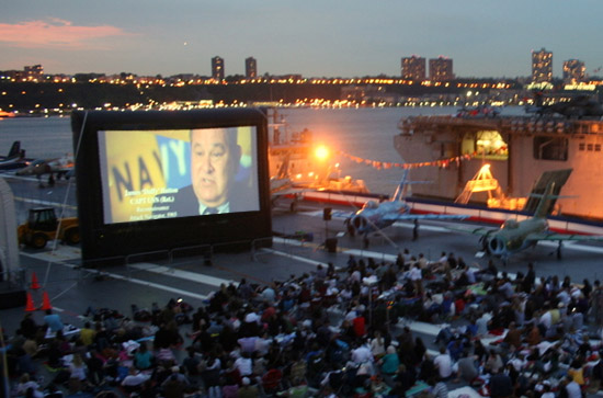 NYC LIFE:  Special Invites, Outdoor Movies