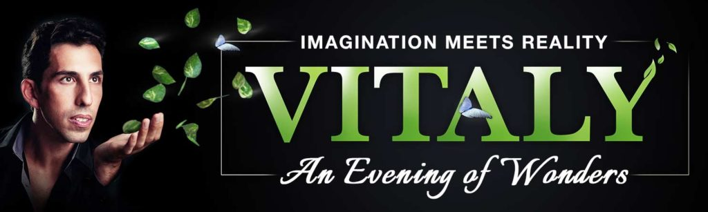 Win Tickets to See Illusionist Vitaly