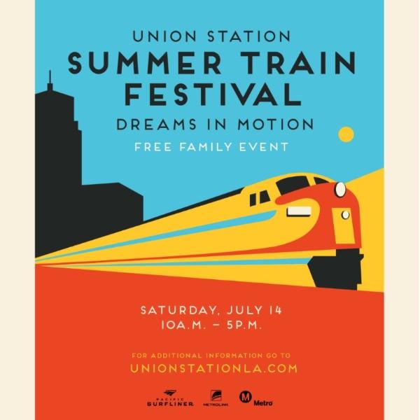 LA LIFE: Trains, Theater, 'Tinis, Markets & Festivals