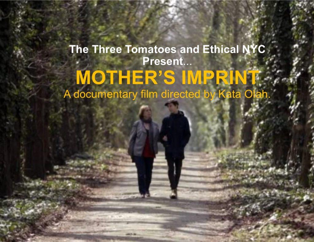 Film Premiere Invite: Mother's Imprint