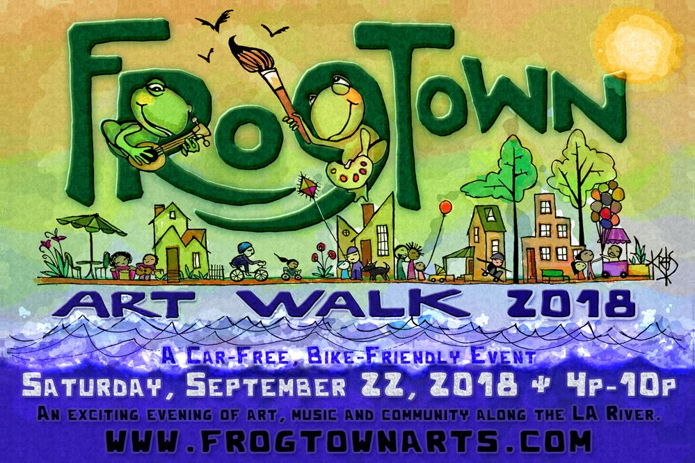 frogtown art walk 2018