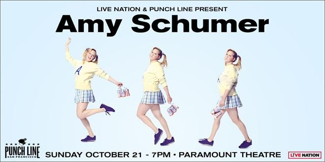Amy Schumer Paramount Theatre