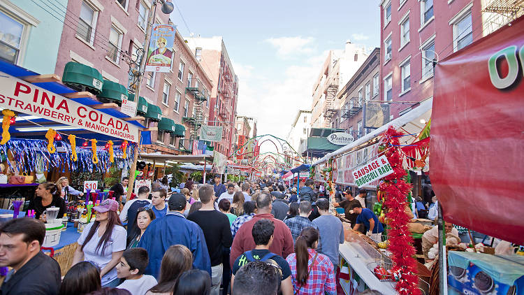 San genaro feast, NYC