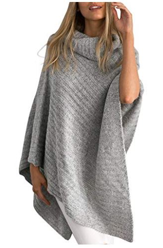 Cozy Fall Cardigans, Shawls and Ponchos