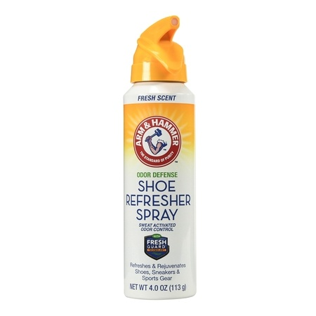Products We're Loving arm & hammer shoe refresher spray