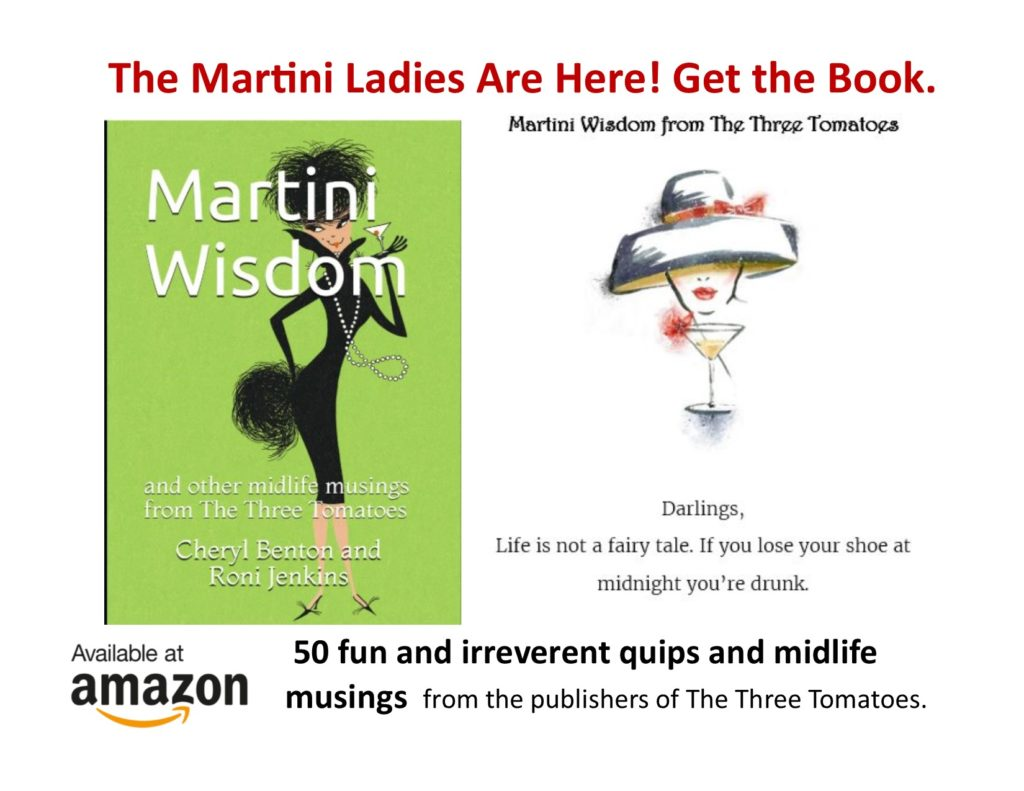 The Martini Ladies Are Here! Get the book.