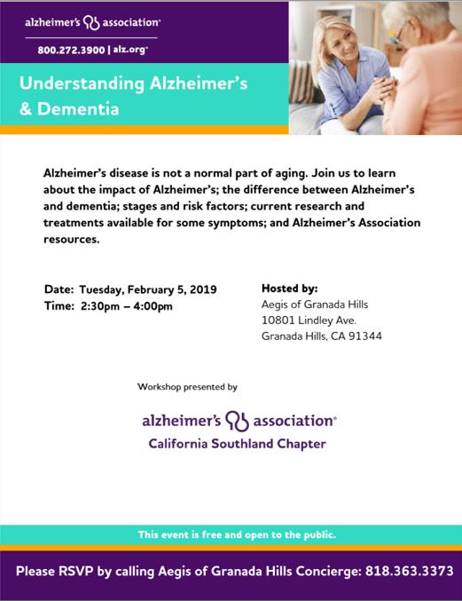 LA Life, Underanding Alzheimer's and Dementia