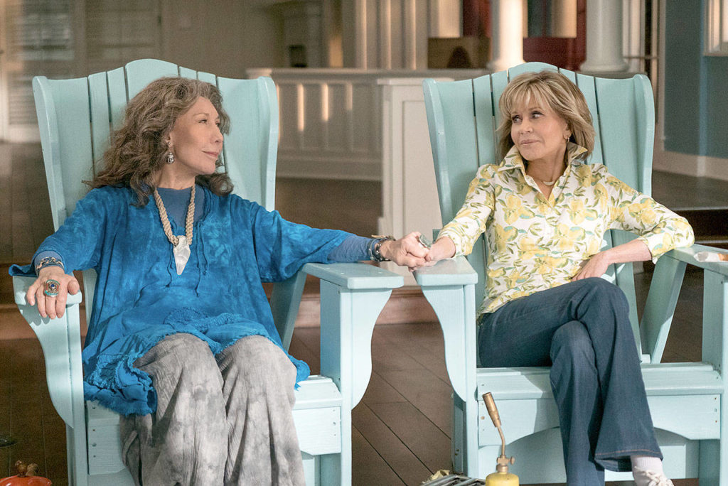 Grace and Frankie Season 5 Style, The Three Tomatoes