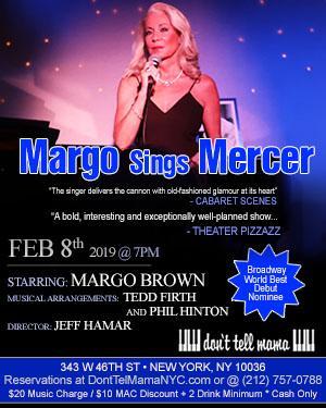 Cabaret Listings January-February 2019