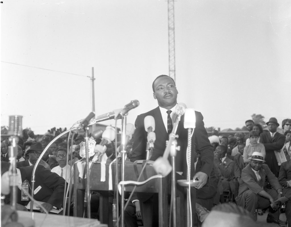 Martin Luther King,Jr. celebration at California African American Museum