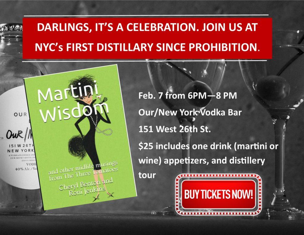Martini Celebration for Martini Wisdom