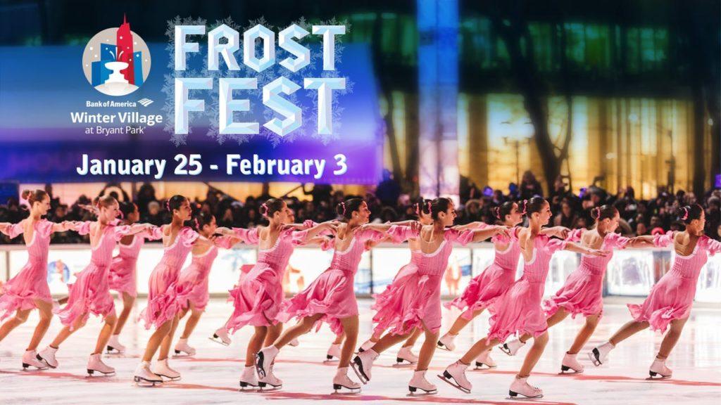 Frost Fest at Bryant Park