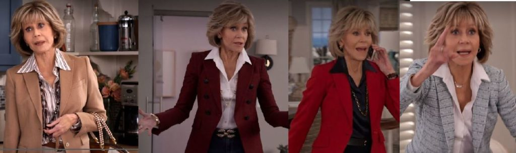 Grace and Frankie Style,Season 5 where to get the looks