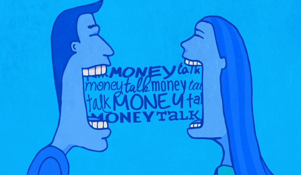 Don't Talk to Your Partner About Money? You're Not Alone.