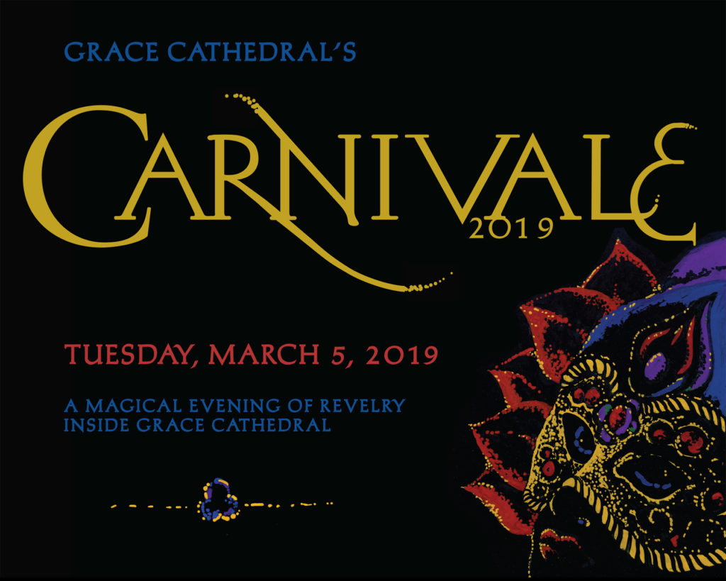 March 5. Carnivale at Grace Cathedral