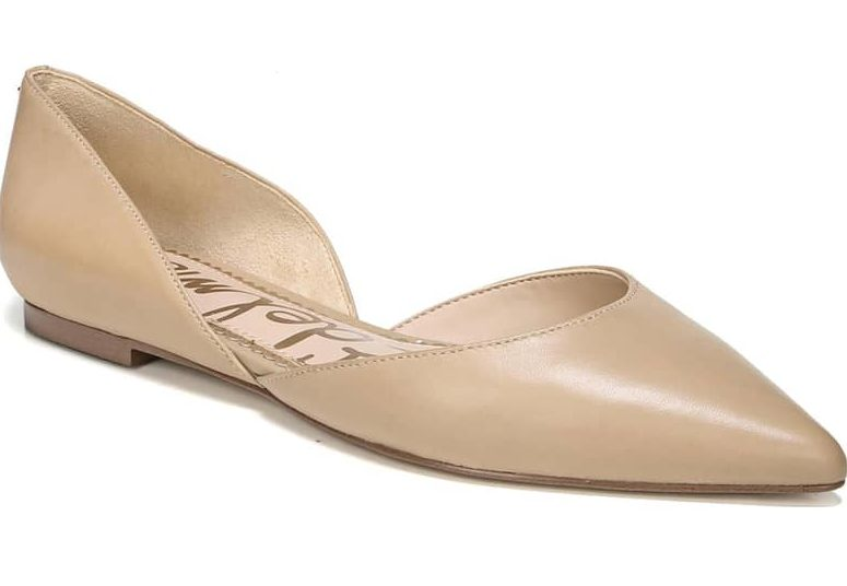 style, tan flat from Nordstrom