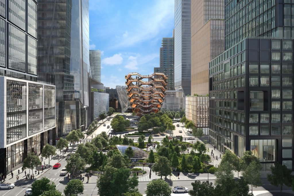 Grand opening of Hudson Yards