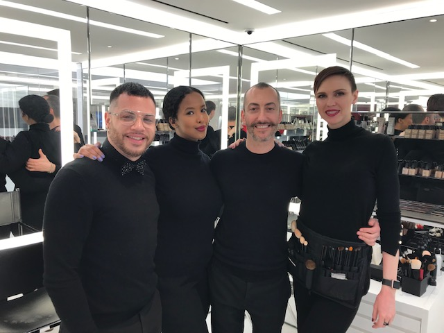 NARS Cosmetics makeup team 971 Madison Avenue, NYC