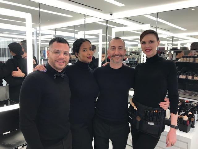 NARS Cosmetics makeup team 971 Madison Avenue, NYC