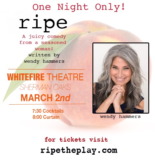 Ripe, Wenday Hammers One woman show