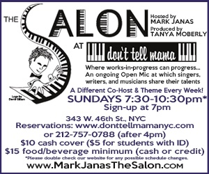 Salon at Don't Tell Mama