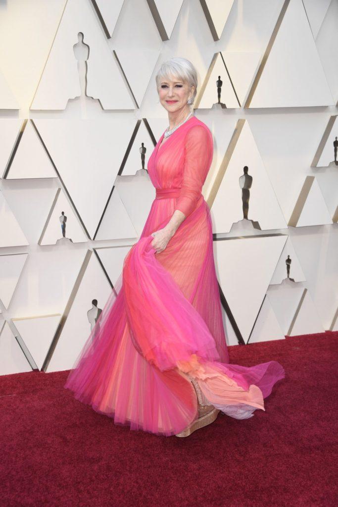 Helen Mirren, best dressed at the Oscars