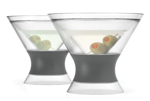 martini freeze martini glasses
