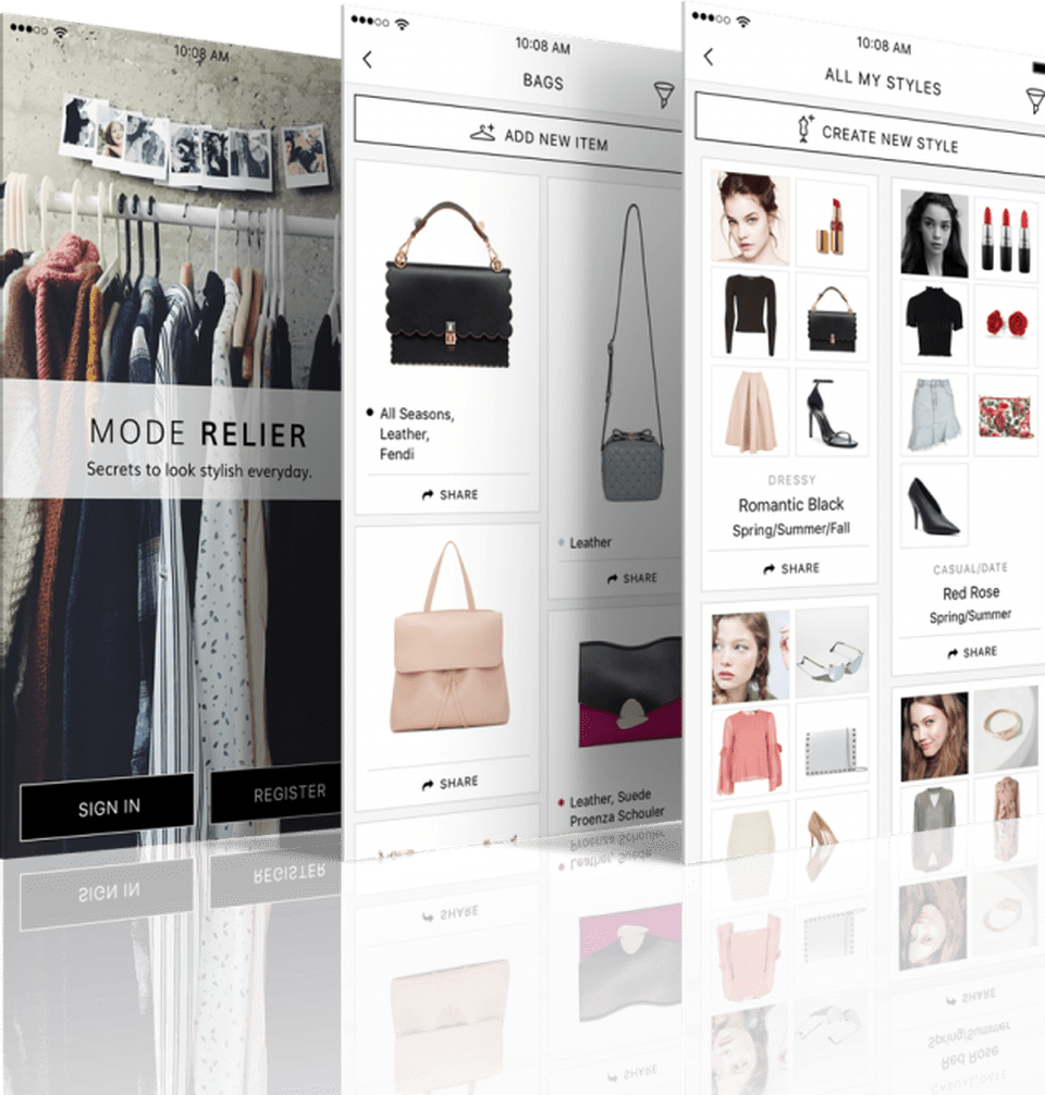 Mode-Relier- Style Your Looks, and Organize your Clothes