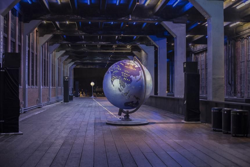The Moon, the Earth and Us, High Line