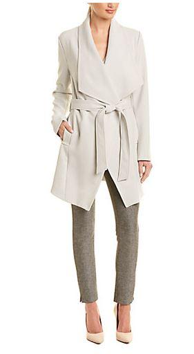 Tahair wrap coat