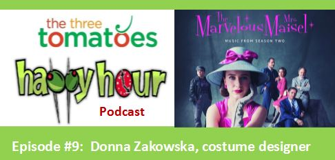"""Happy Hour Podcast """"The Marvelous Mrs. Maisel"""" clothes"""