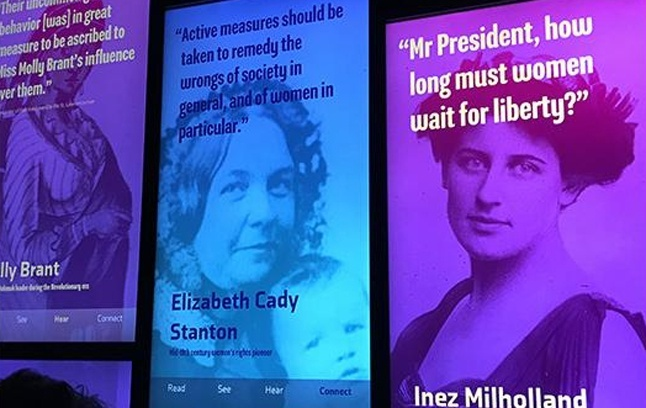 Women's Voices at the NY Historical Society