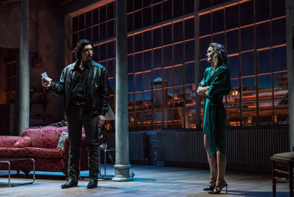 A couple of shows setting Broadway  ablaze: Burn This and Hadestown