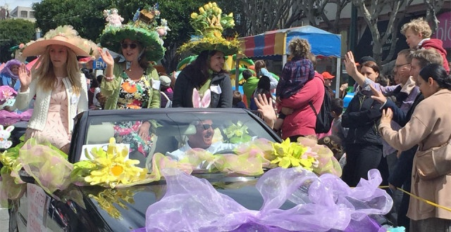 SF LIFE: Easter Bonnets, Presido Picnics, World Premier, New Threads