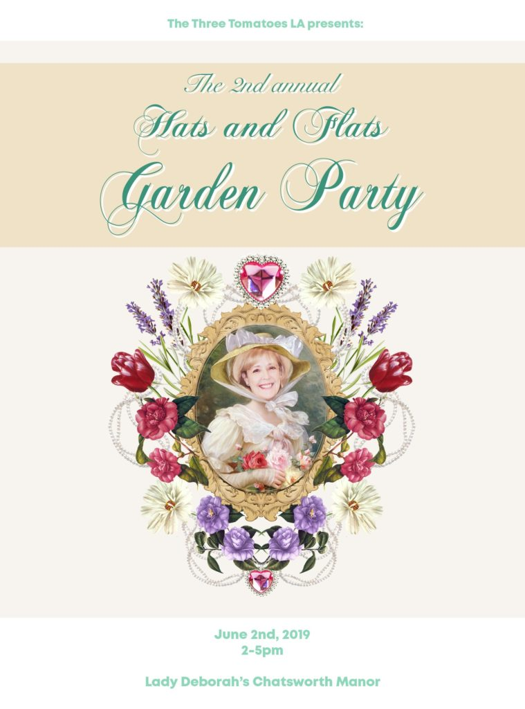 June 2. Hats & Flats Garden Party