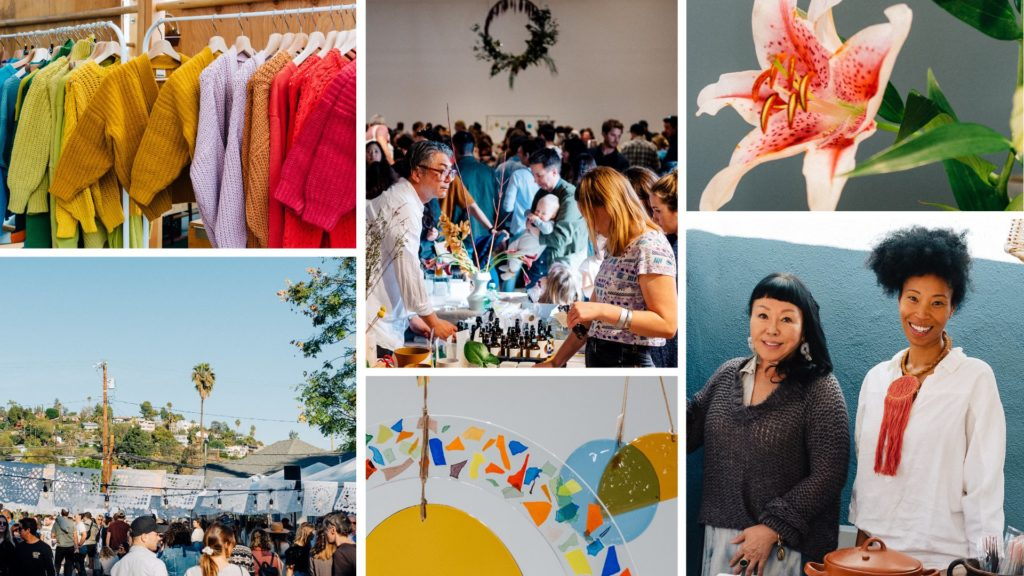 LA LIFE: Mother's Day Fun, Craft Fair, Lunch, Roses, Garden Party